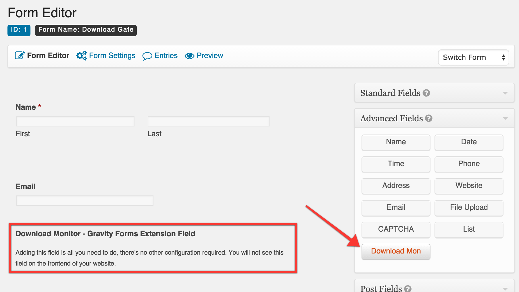 dlm-gravity-forms-add-field Tab Order Gravity Forms on other field conditional logic, checkout page example, file upload, shopping cart, validating against table, carrying over field input, list field, which tables, table view,